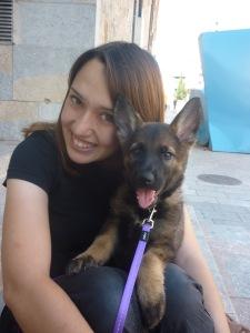 La Mina, la nostra futura gossa detectora