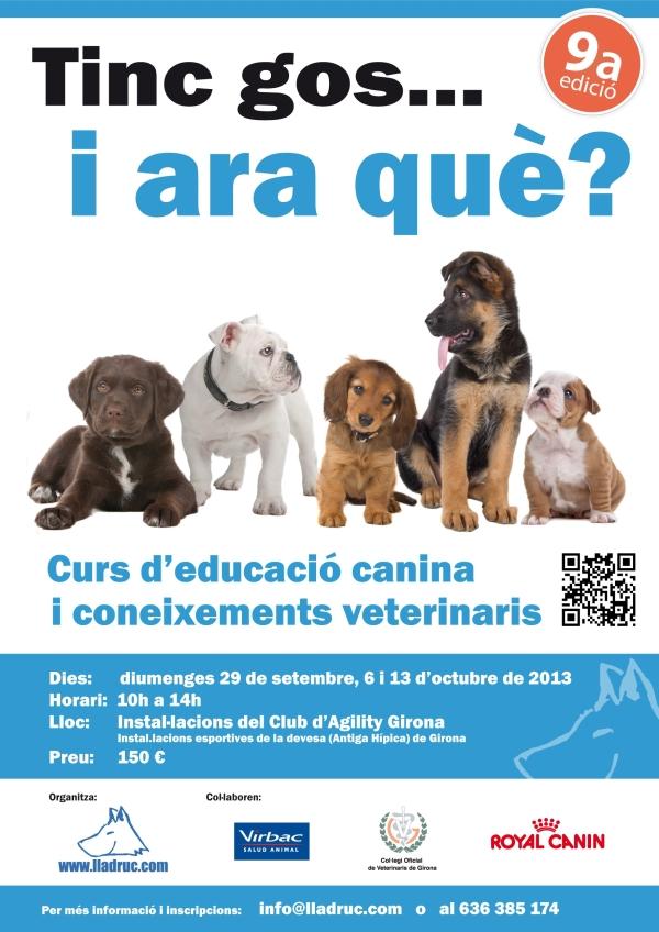 Curs ensinistrament i coneixements veterinaris