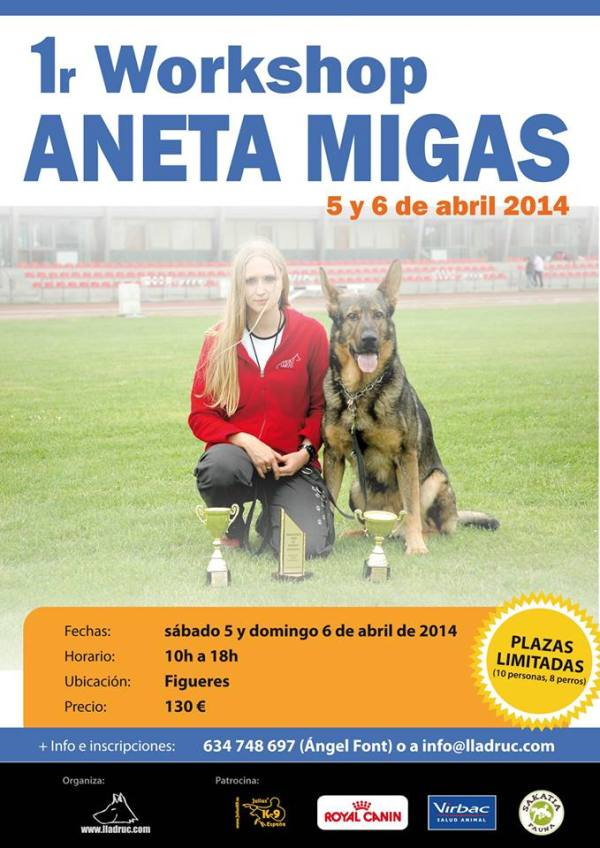 Cartell workshop Aneta Migas