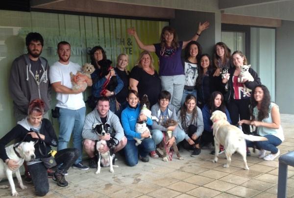 Foto en grup del seminari de la Nina Bondarenko