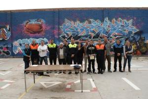 Alguns dels protagonistes del Curs avançat de guia caní policial a Sant Feliu de Guíxols