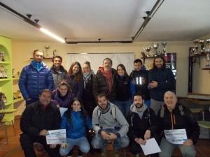 Els alumnes del seminari de gossos detectors a Madrid