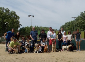 Els alumnes, menys l'Ester i en Cooper, a la foto de final del curs Lladruc!