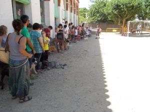 Tot i la calor tots els alumnes s'ho van passar bé!
