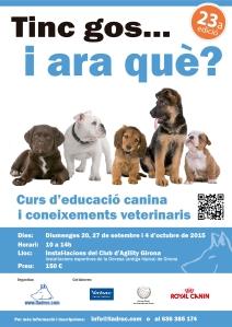 Propera edició del curs d'educació canina i coneixements veterinaris més famós de Lladruc! :)