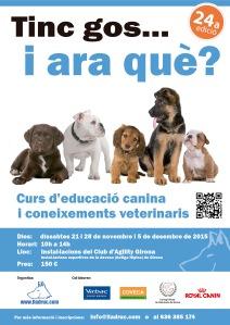 24 edició curs educació canina i coneixements veterinaris
